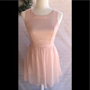 Pink A-line Dress by Forever 21